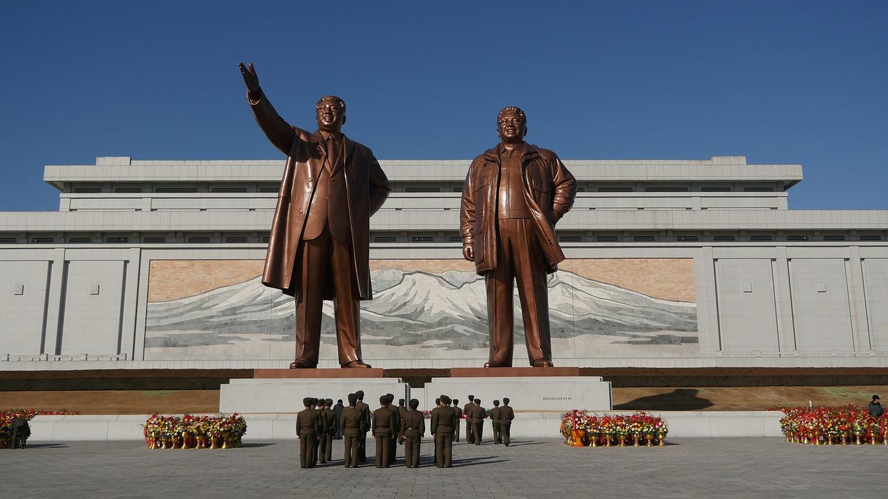 Une photo de la Corée du Nord