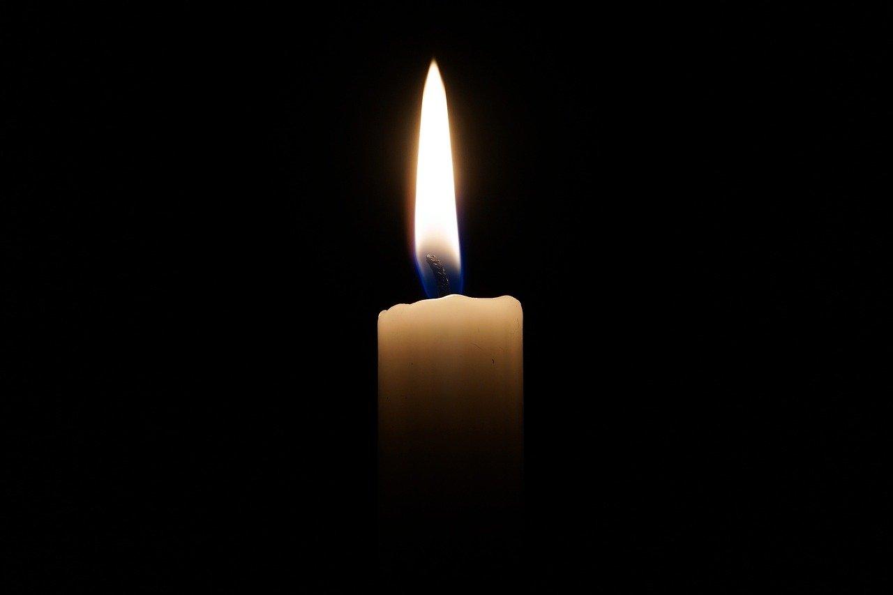 Une flamme symbolisant la disparition d'une personne