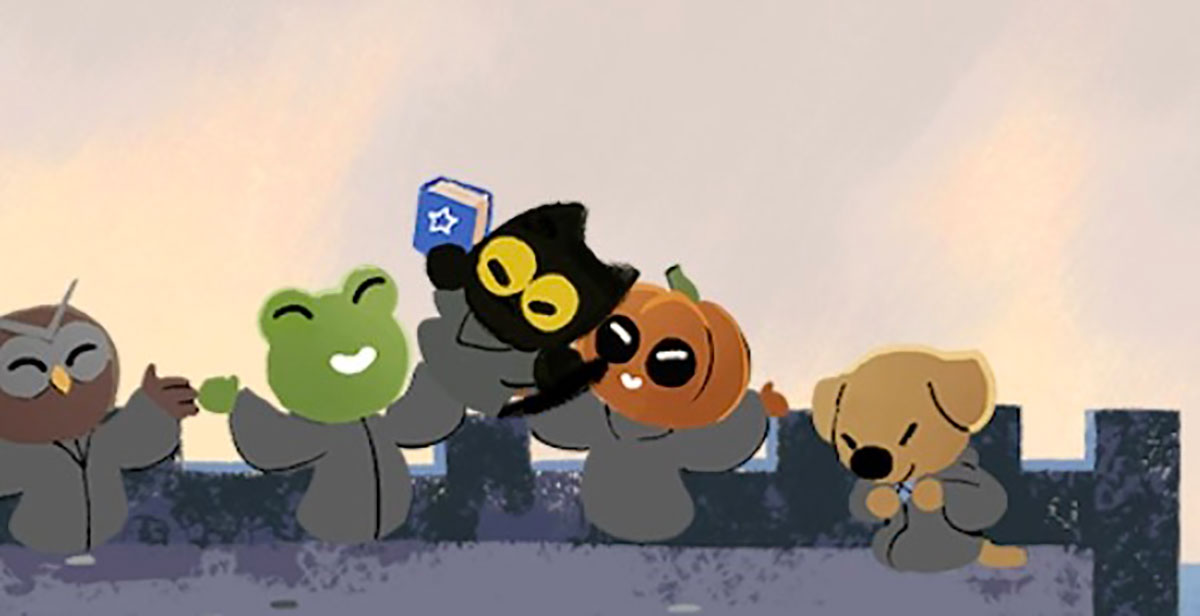 Pour Halloween, Google n'a pas lésiné sur le doodle