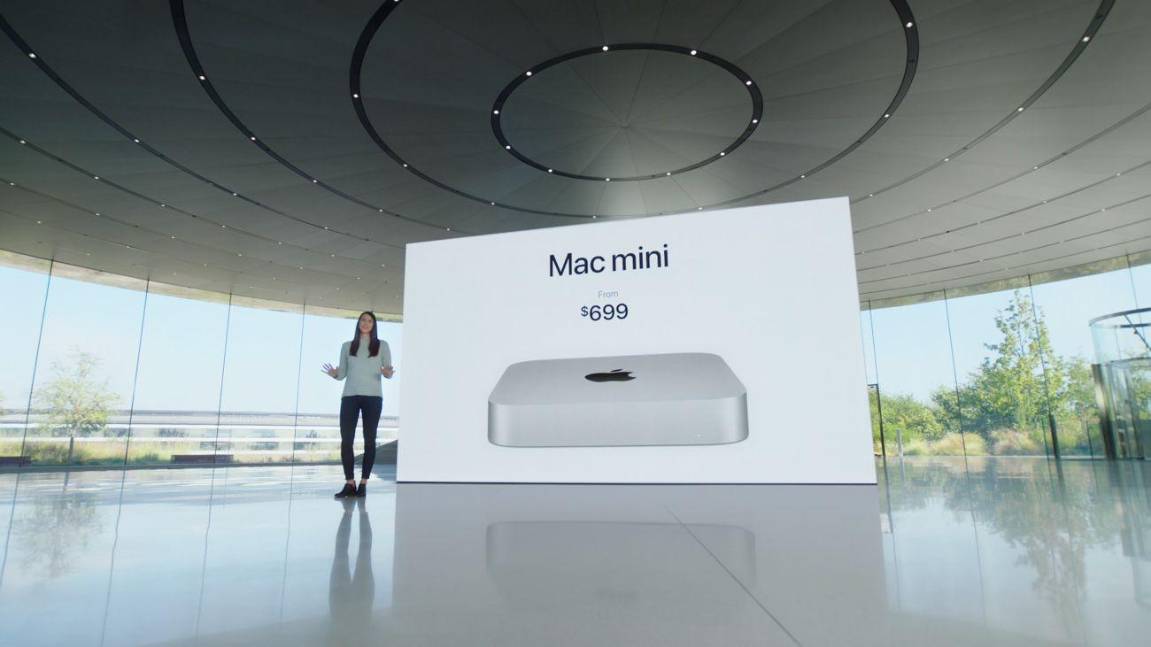 Le Mac Mini M1 ne change pas de look