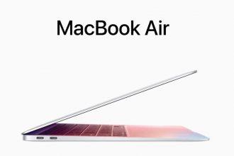 Le MacBook Air dernière génération