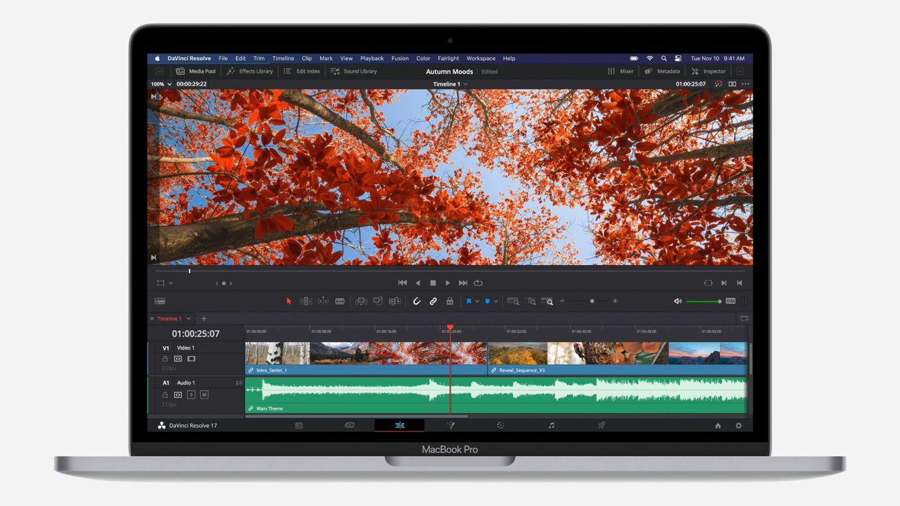 Le MacBook Pro M1, encore une fois on ne voit pas de différences en terme de design