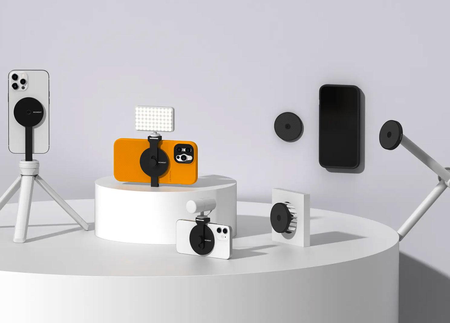 Moments vient de dévoiler une gamme d'accessoires magnétiques pour les iPhone 12