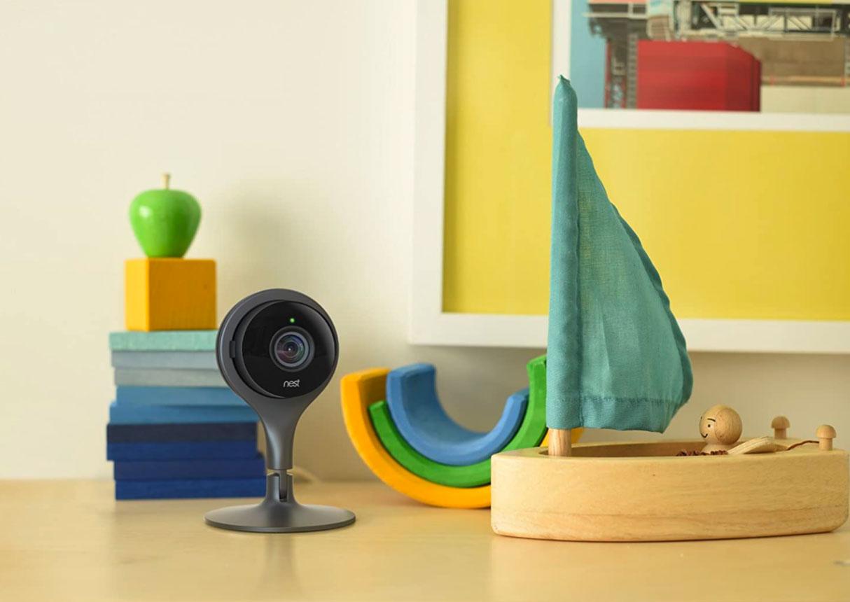 La Nest Cam Indoor, une caméra de sécurité très discrète