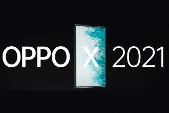L'Oppo X 2021, un smartphone équipé d'un écran enroulable