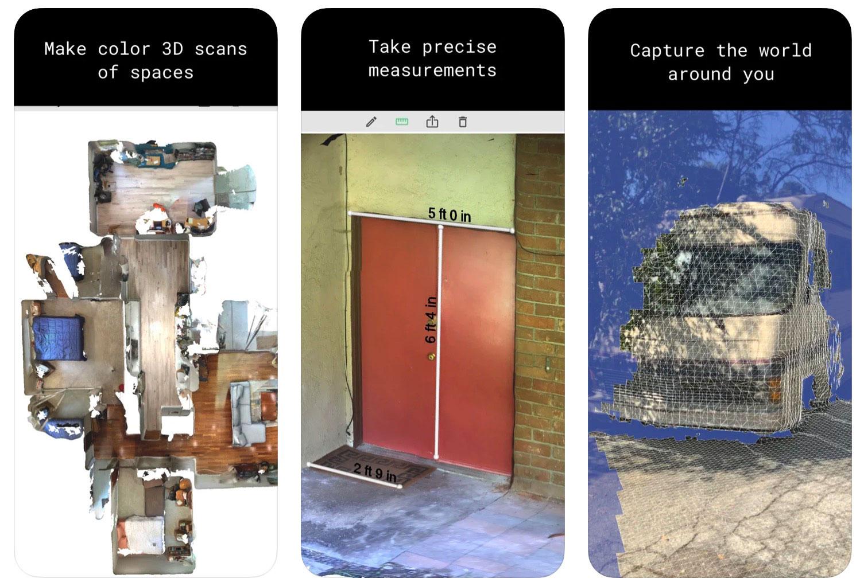 Polycam LiDAR 3D Scanner, l'application qui te permet de capturer le monde