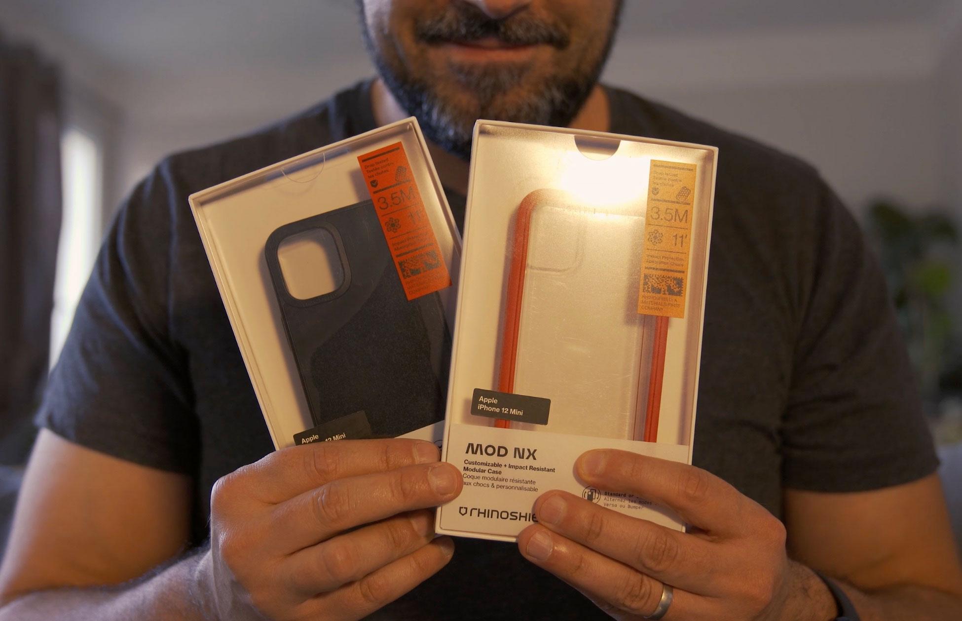 La Mod NX et la SolidSuit sont aussi adaptées à l'iPhone 12 Mini