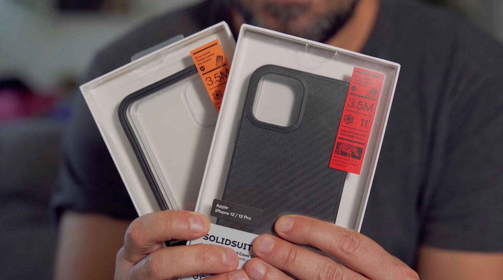 Rhinoshield propose bien entendu une collection de coques pour l'iPhone 12 Pro