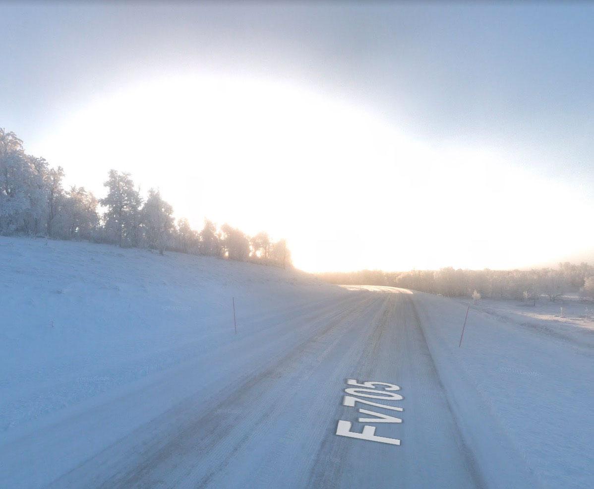Si l'on en croit Google Street View, notre Soleil a un sérieux problème.
