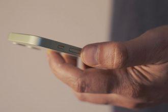 Une photo de l'iPhone 12 Mini