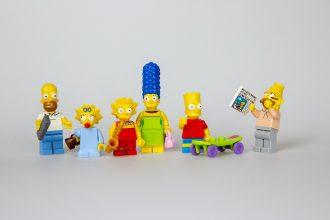 Les Simpson en famille