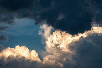 Une photo de nuages