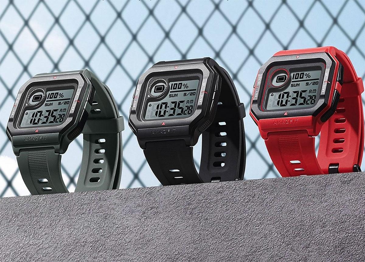 L'Amazfit Neo, une montre connectée délicieusement rétro