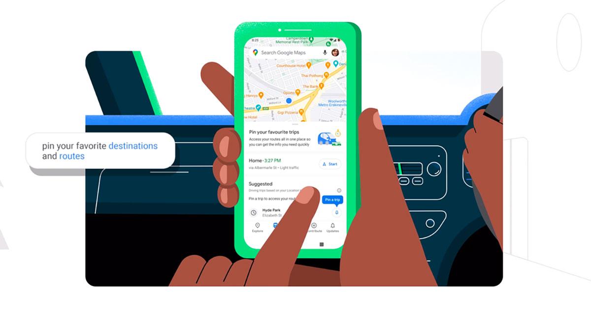 Google Maps va devenir encore plus pratique