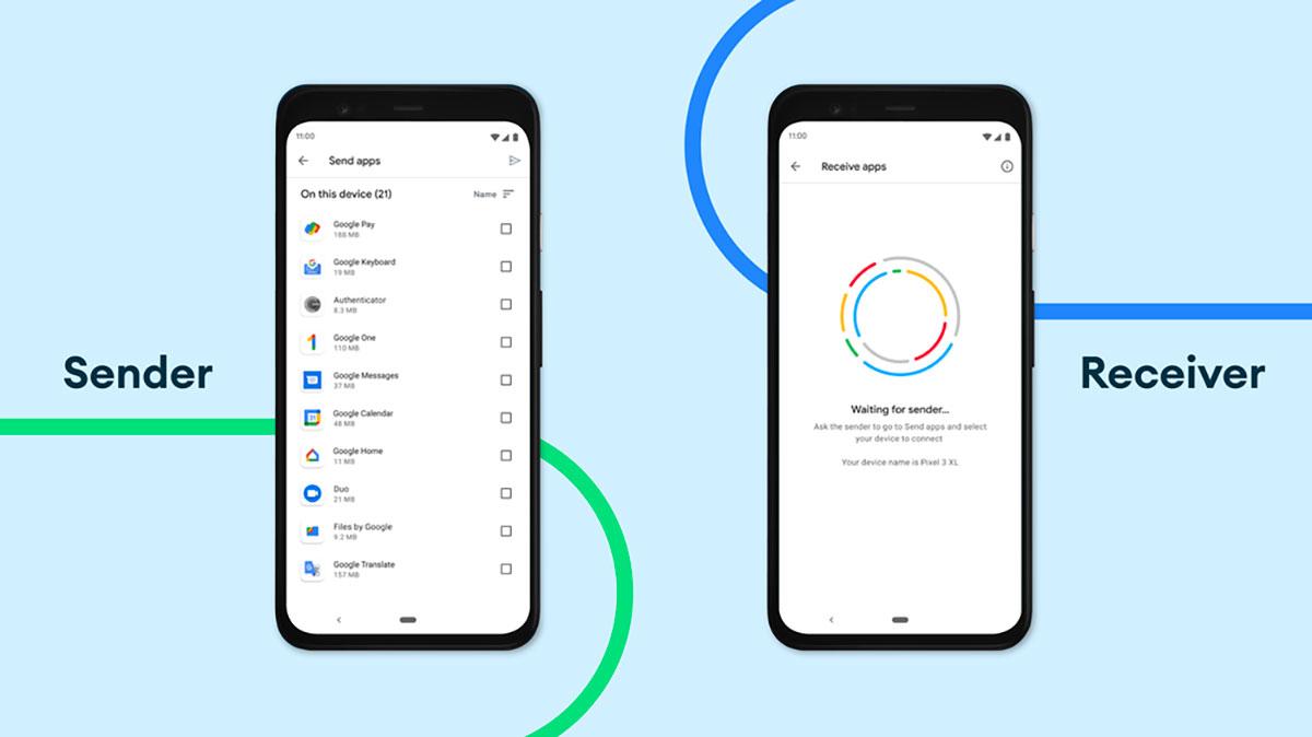 Android va nous permettre de partager des applications