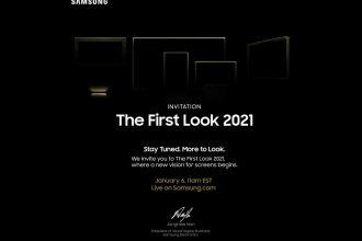 Samsung a un truc de prévu le 6 janvier