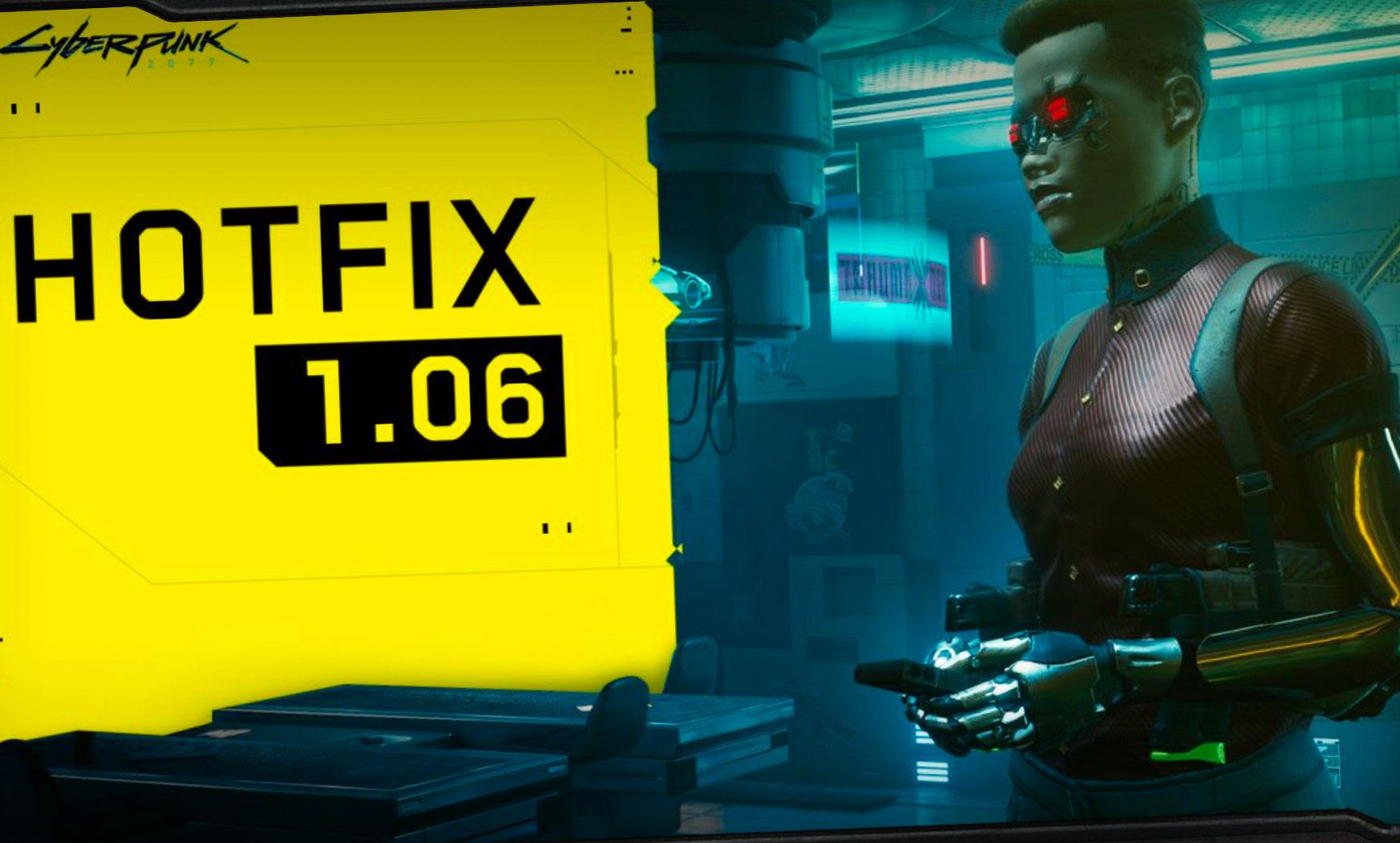 Cyberpunk 2077 vient d'être mis à jour