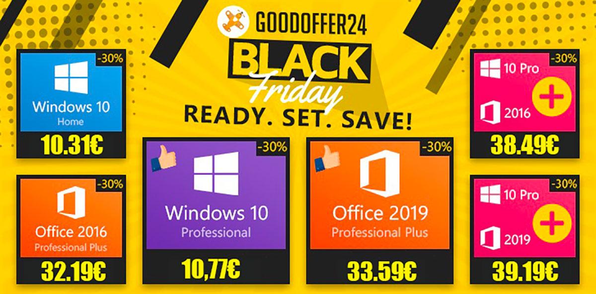 Il y a plein de promos sur les clés Windows et Office