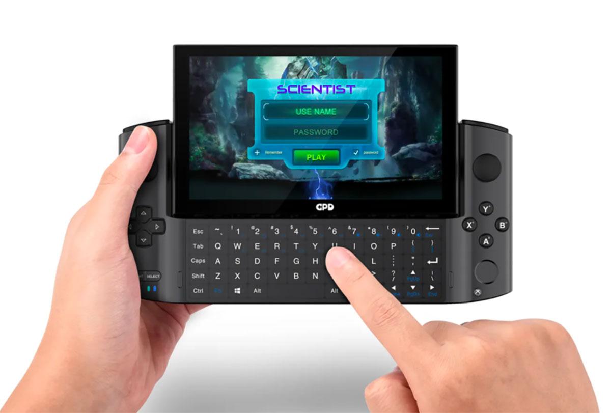 Le GPD Win 3 est une console. Et un PC.