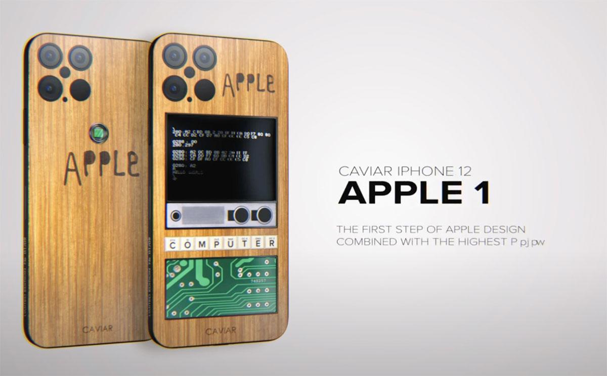 Quand l'iPhone 12 Pro rencontre l'Apple 1