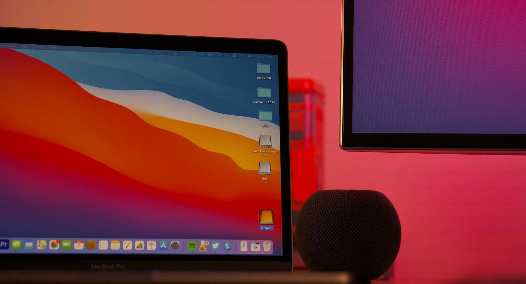 Le MacBook Pro M1 a su s'imposer comme ma machine principale
