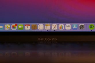 Une photo du MacBook Pro M1
