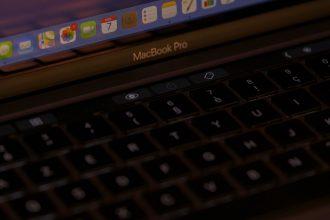 Le clavier du MacBook pro