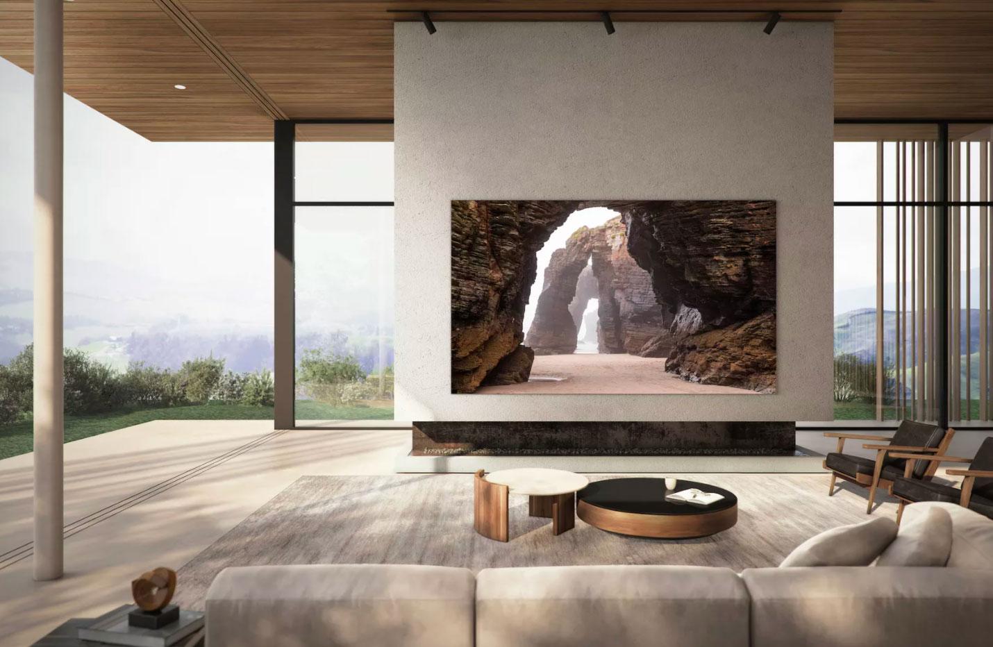 Samsung vient de présenter un TV Mini LED de 280 cm