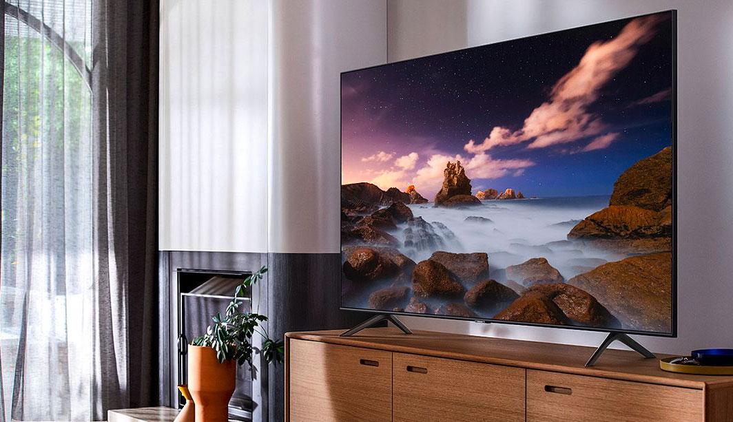 Le TV QLED Samsung QE55Q60T 2020 est en promo