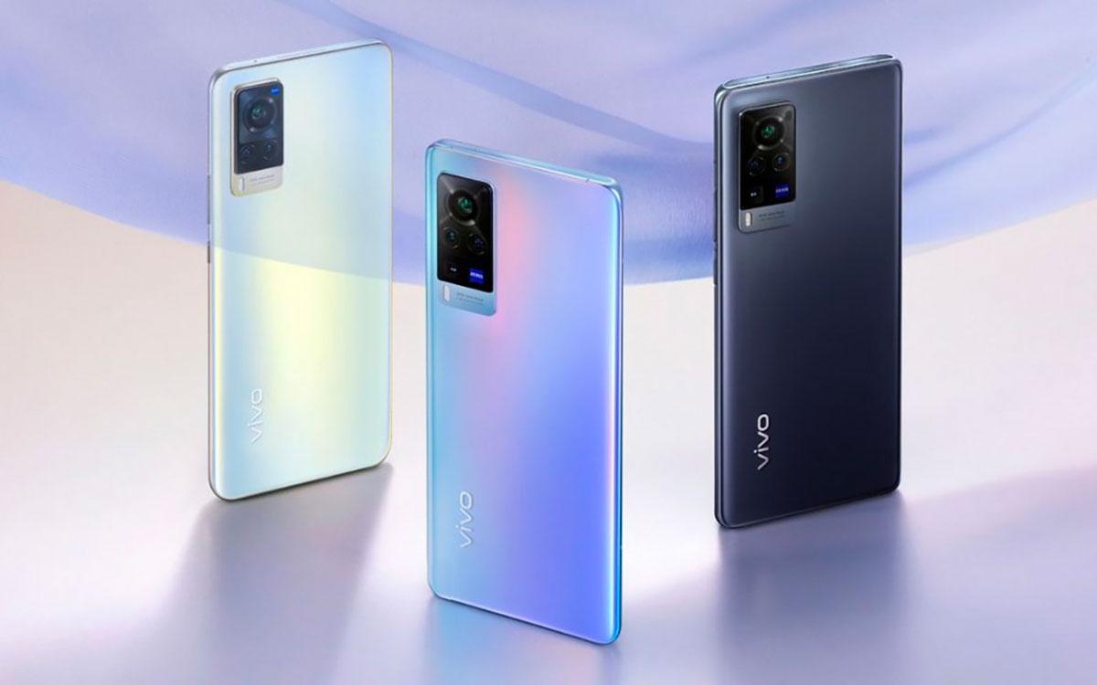 Les Vivo X60 se déclinent en plusieurs couleurs