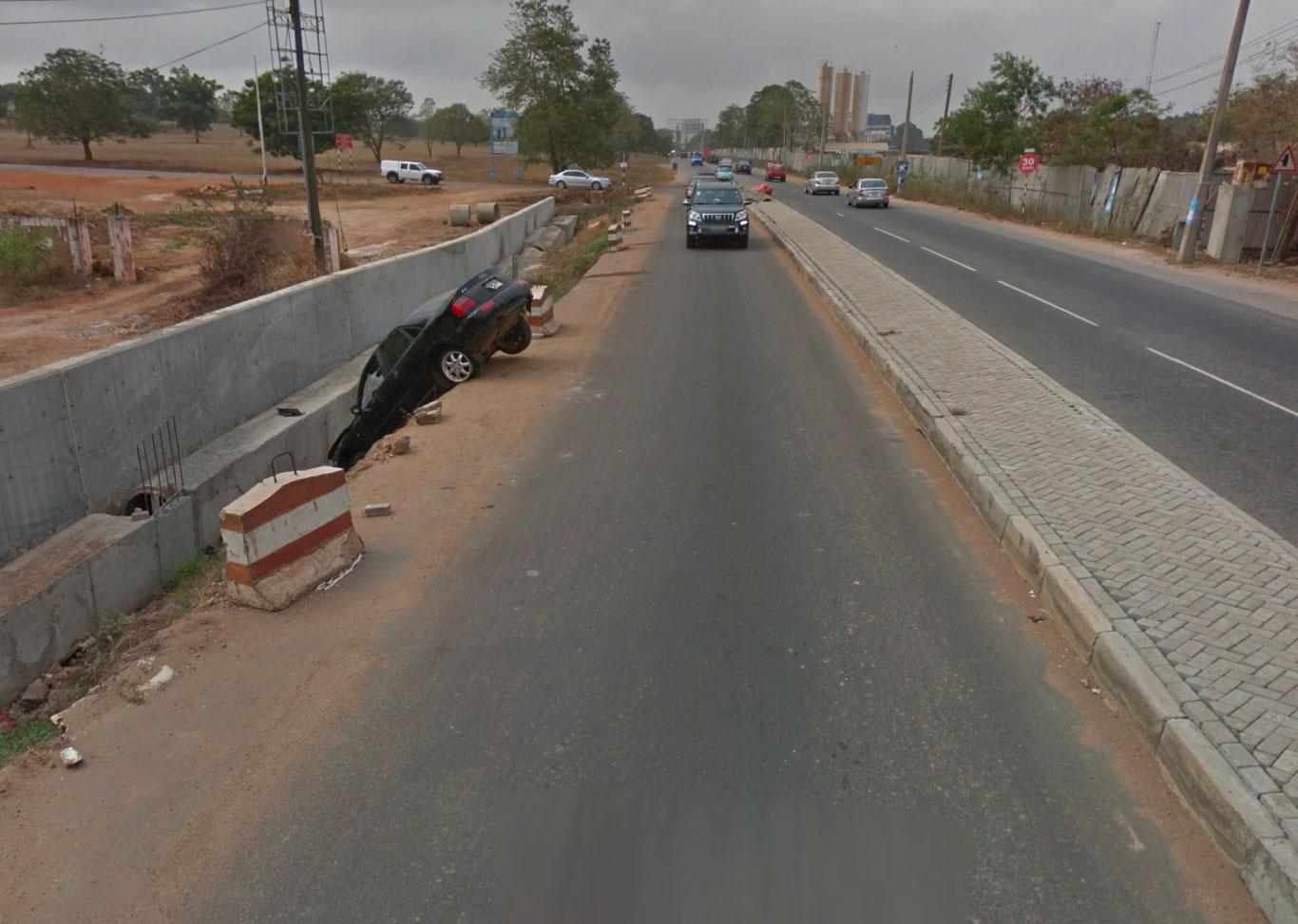Il y a des jours avec et des jours sans, même sur Google Street View