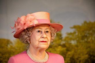 La Reine Elizabeth en version statue de cire