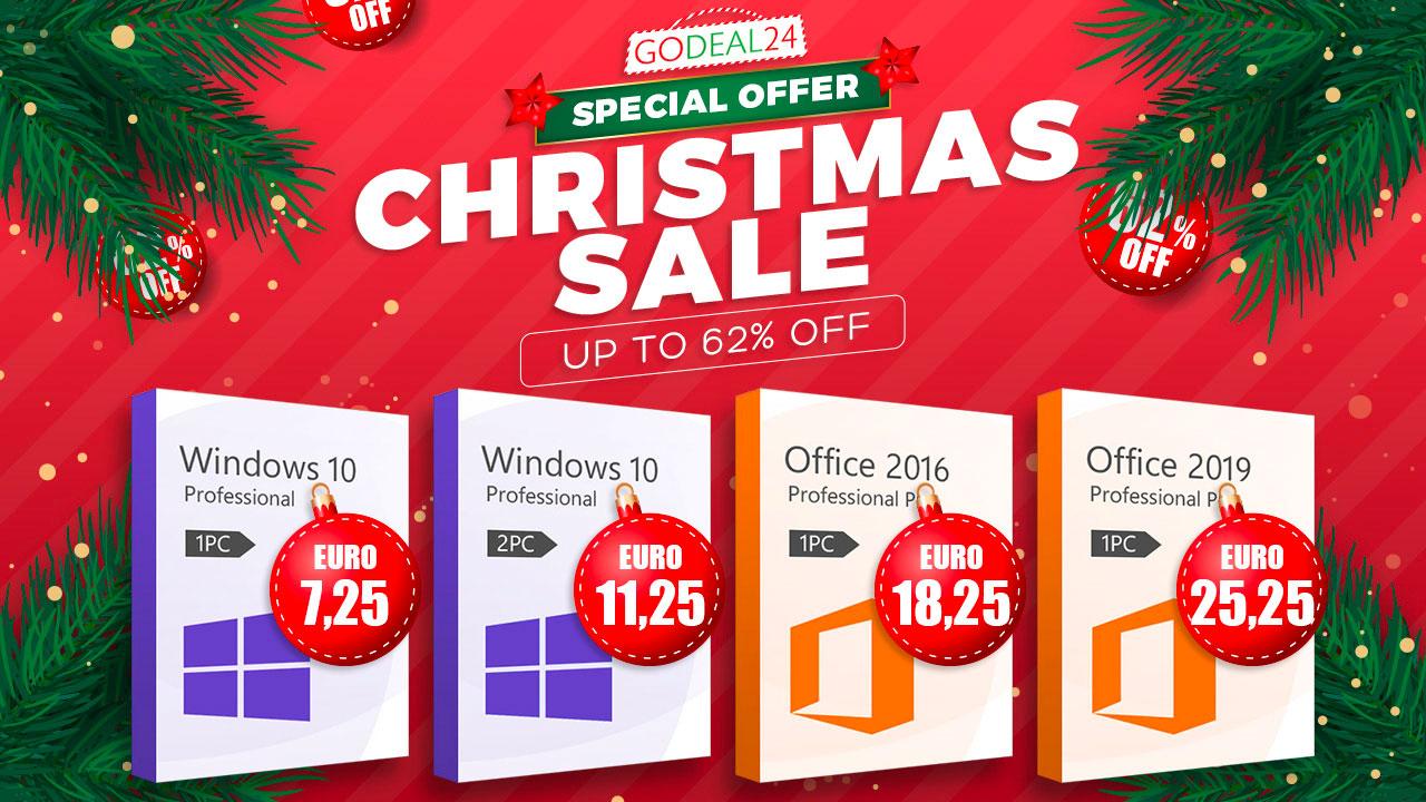 Windows 10 est proposé à prix cassé en ce moment chez GoDeal24.