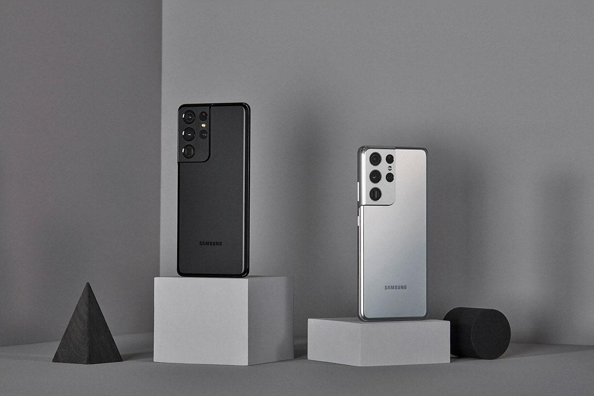 Enfin un noir mat pour le Galaxy S21 Ultra ! - crédits Samsung