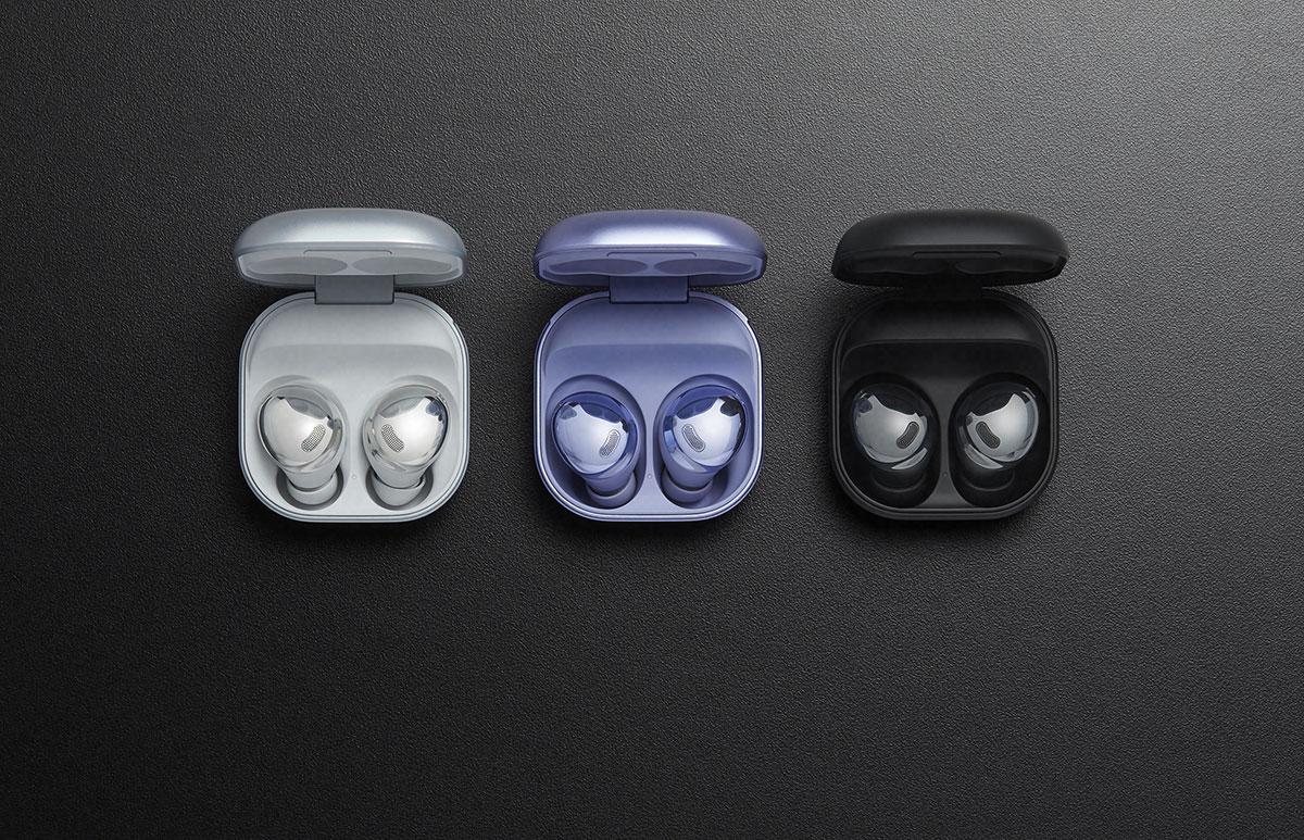 La boîte des Galaxy Buds Pro est assez compacte pour tenir dans la poche - crédits Samsung