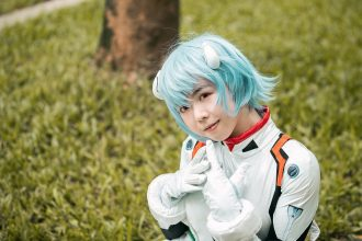 Photo d'une cosplayeuse