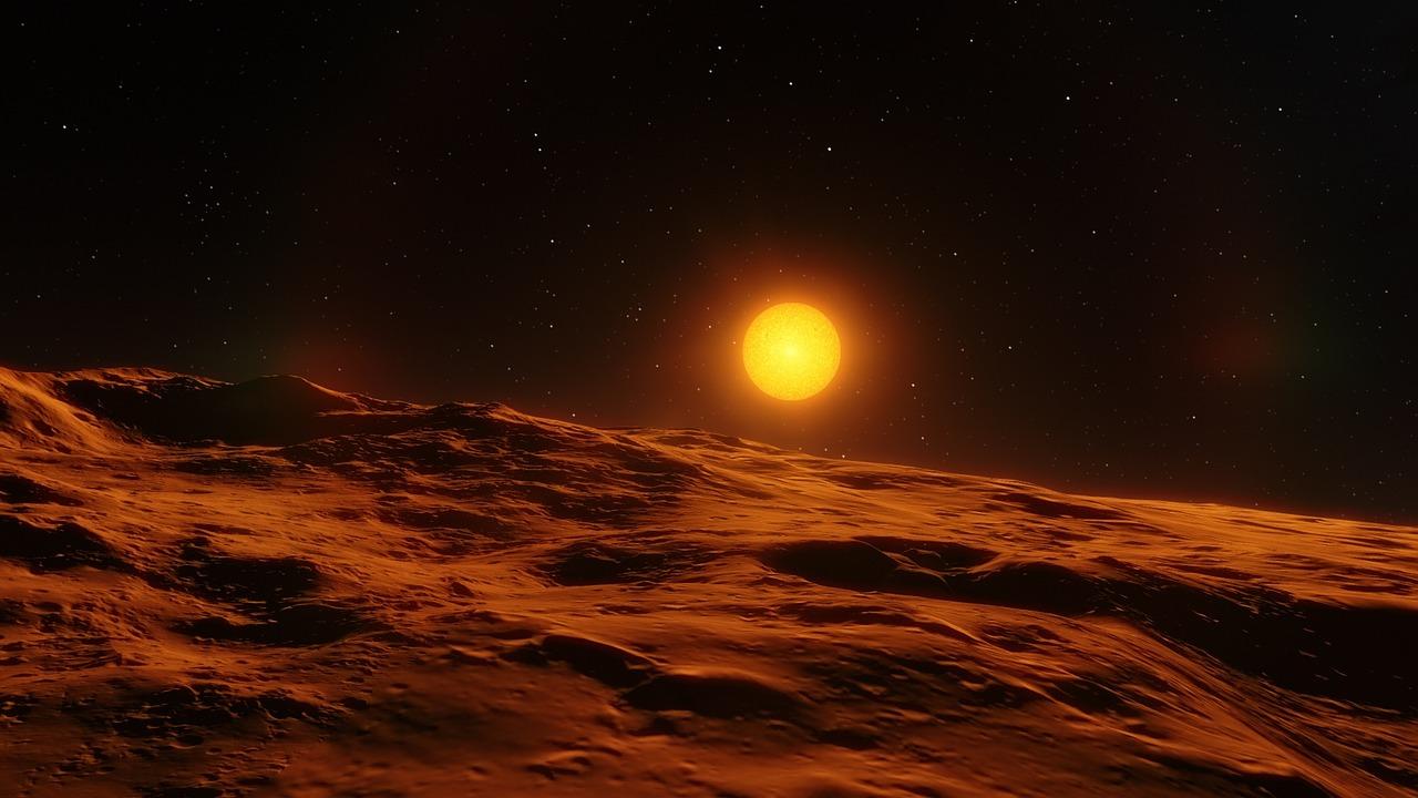 La surface d'un exoplanète