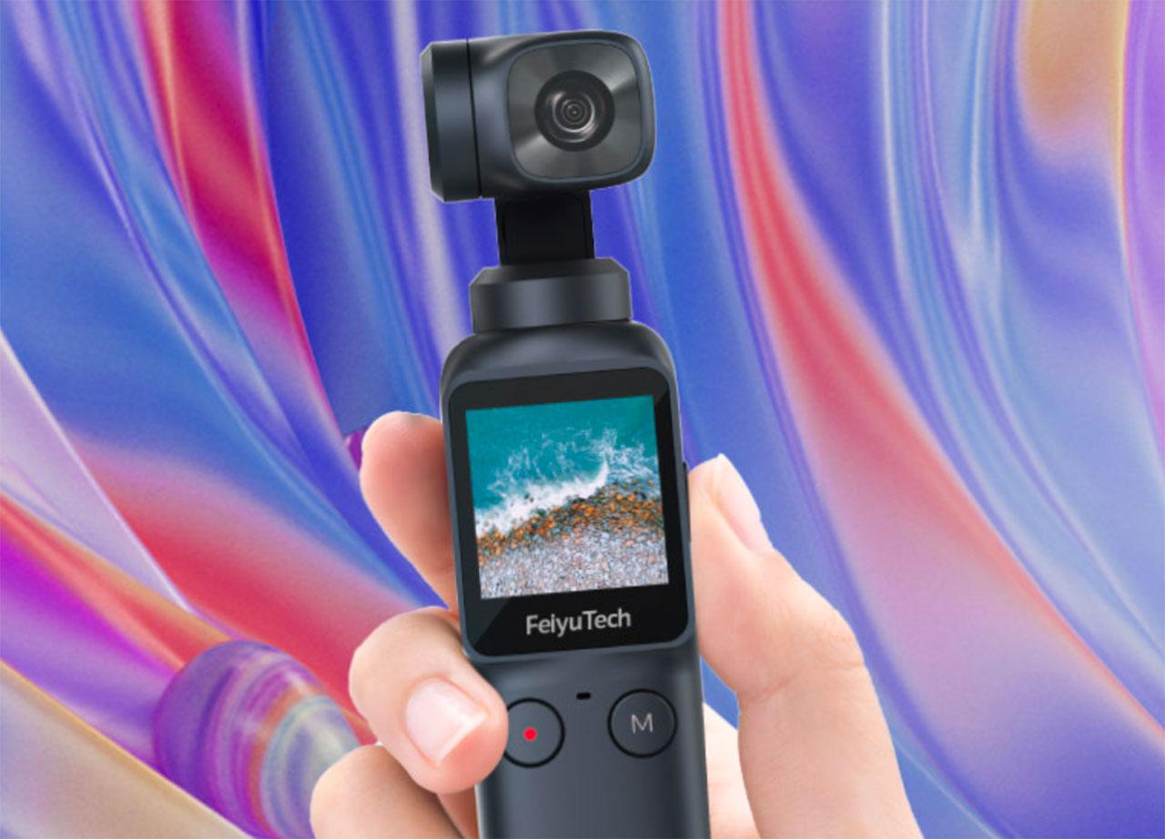 La Feiyu Pocket Camera 4K, une caméra de poche très flexible