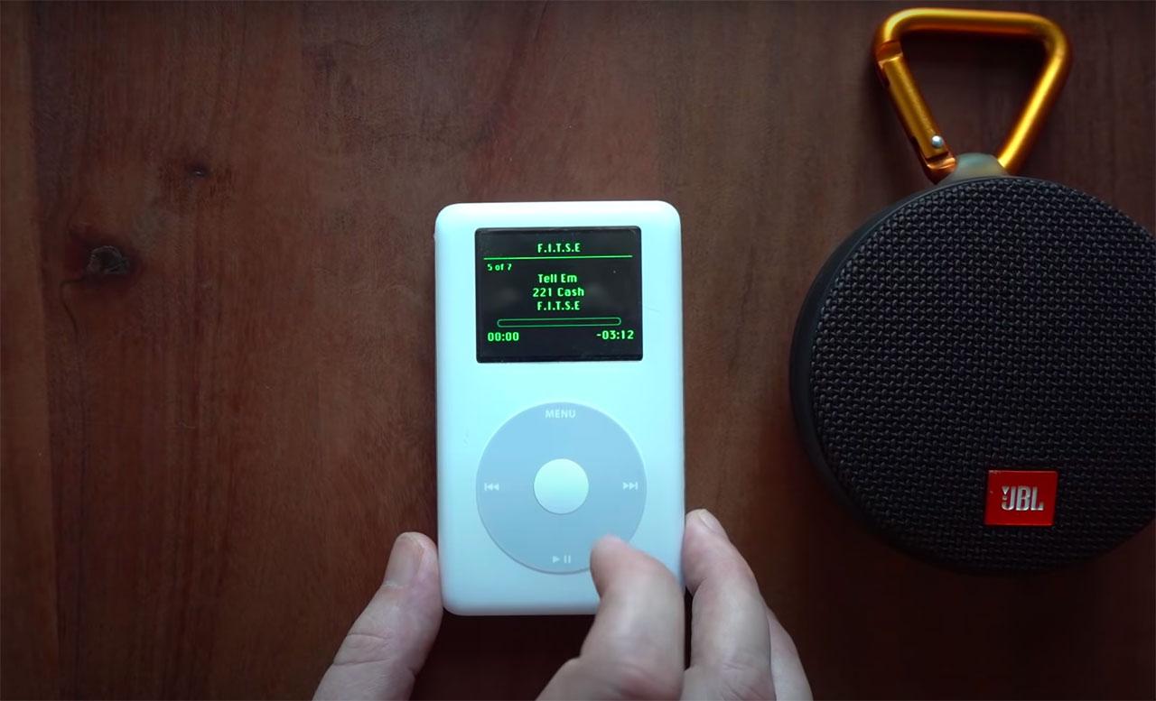 Cet iPod de 2004 peut faire tourner Spotify