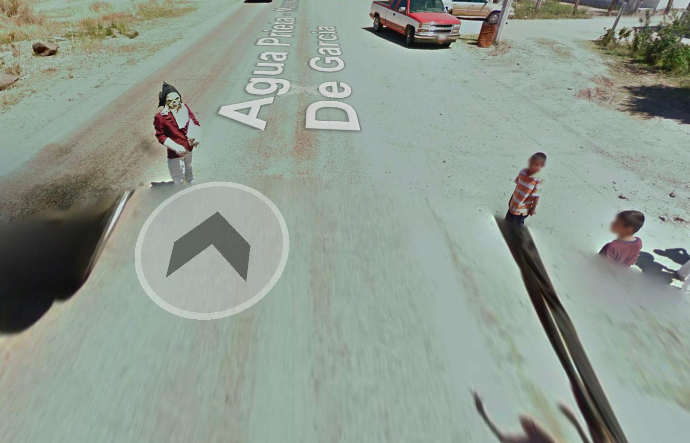 On trouve parfois des gens inquiétants sur Google Street View