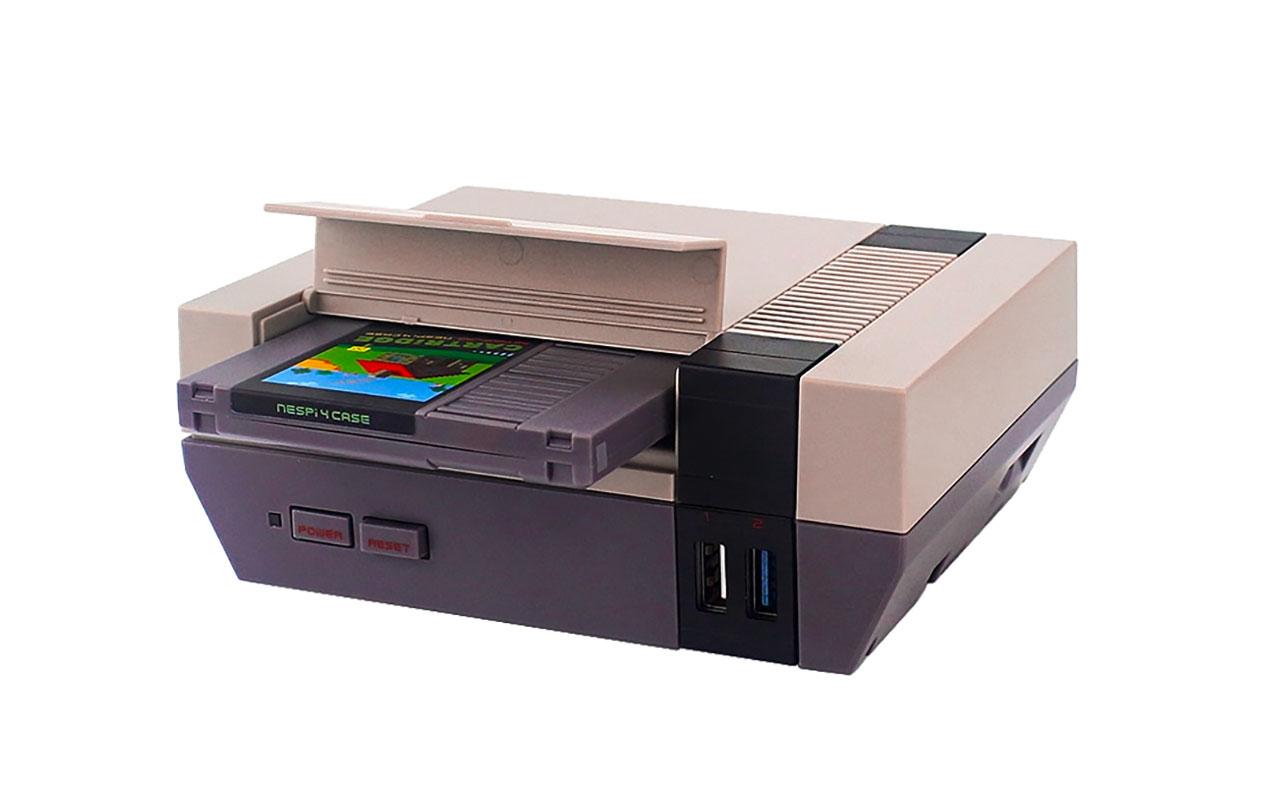 Le boîtier NESPi4 va vous permettre de transformer votre Raspberry Pi 4 en NES