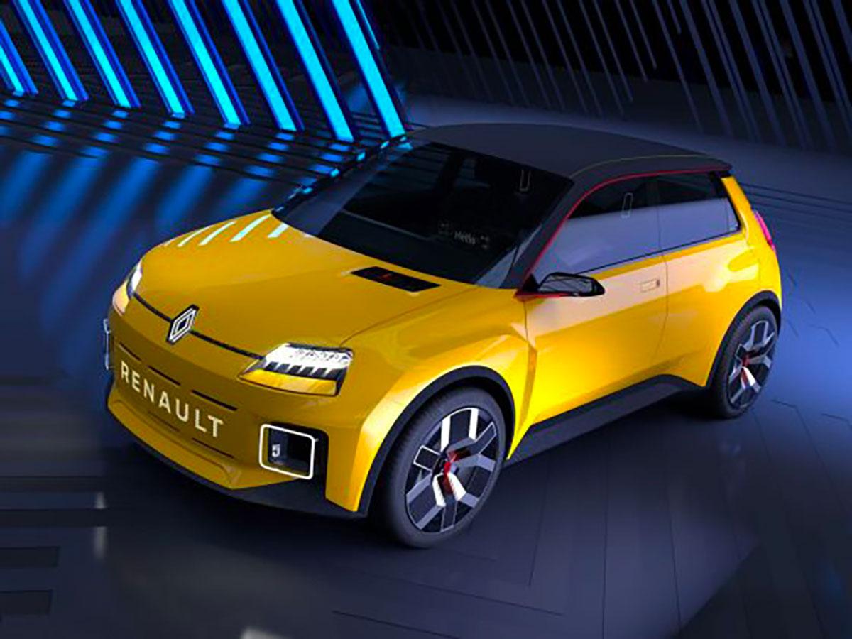 La Renault 5 s'apprête à faire son grand retour avec une version un peu modernisée - crédits Renault
