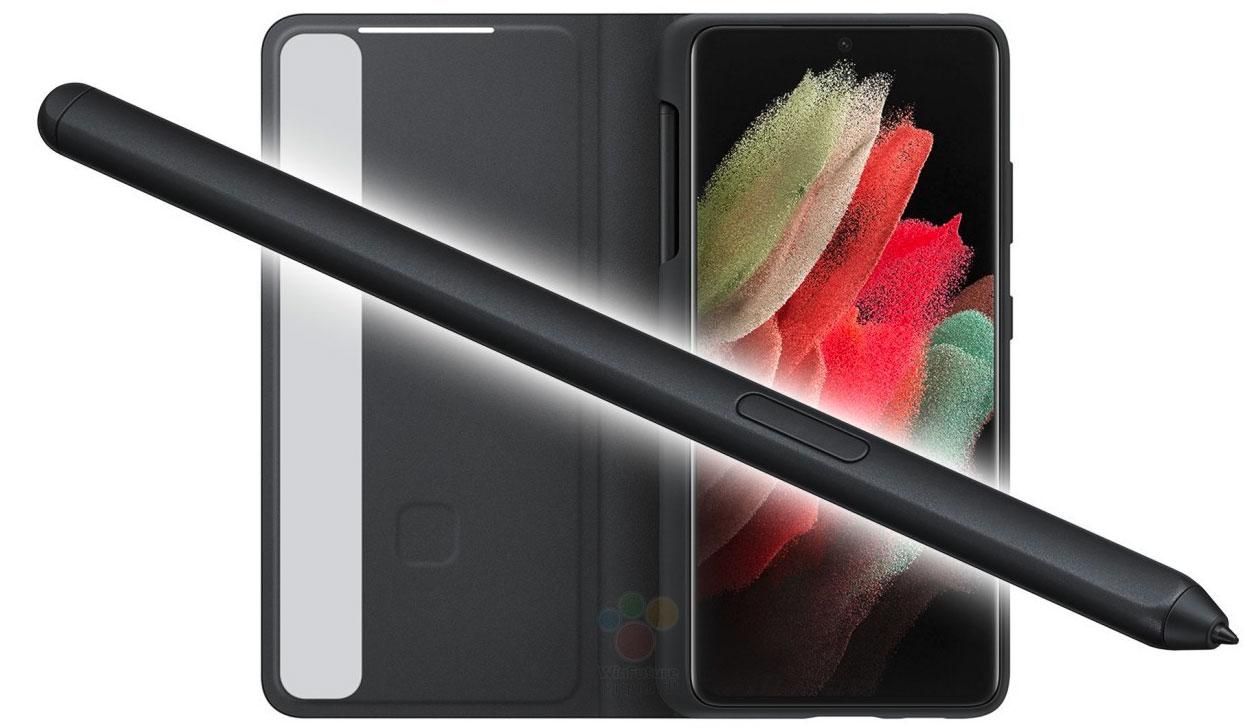 Voici le S Pen et l'étui qui accompagneront le Galaxy S21 Ultra