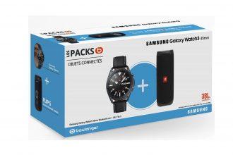 Le pack Galaxy Qatch 3 + JBL Flip est en promo