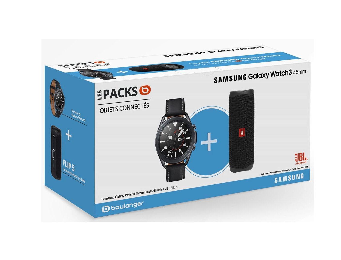 Le pack Galaxy Watch 3 + JBL Flip est en promo