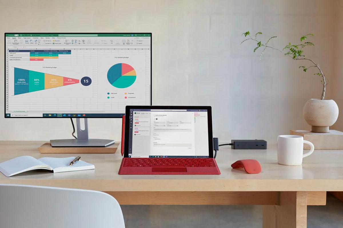 La Surface Pro 7+ - crédits Microsoft
