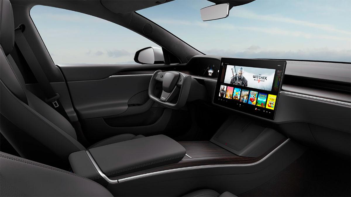 L'intérieur de la Tesla Model S se paye un petit lifting