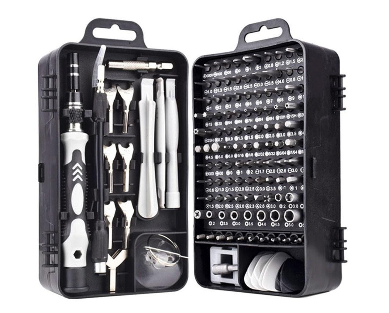 Cette trousse à outils devrait intéresser celles et ceux qui ont l'habitude de démonter des smartphones