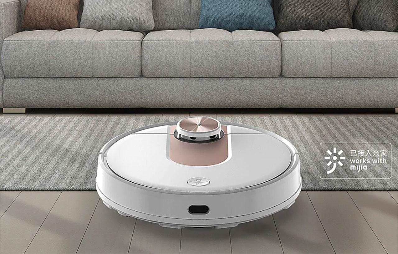 Le VIOMI SE, un robot aspirateur qui va vous faire gagner du temps