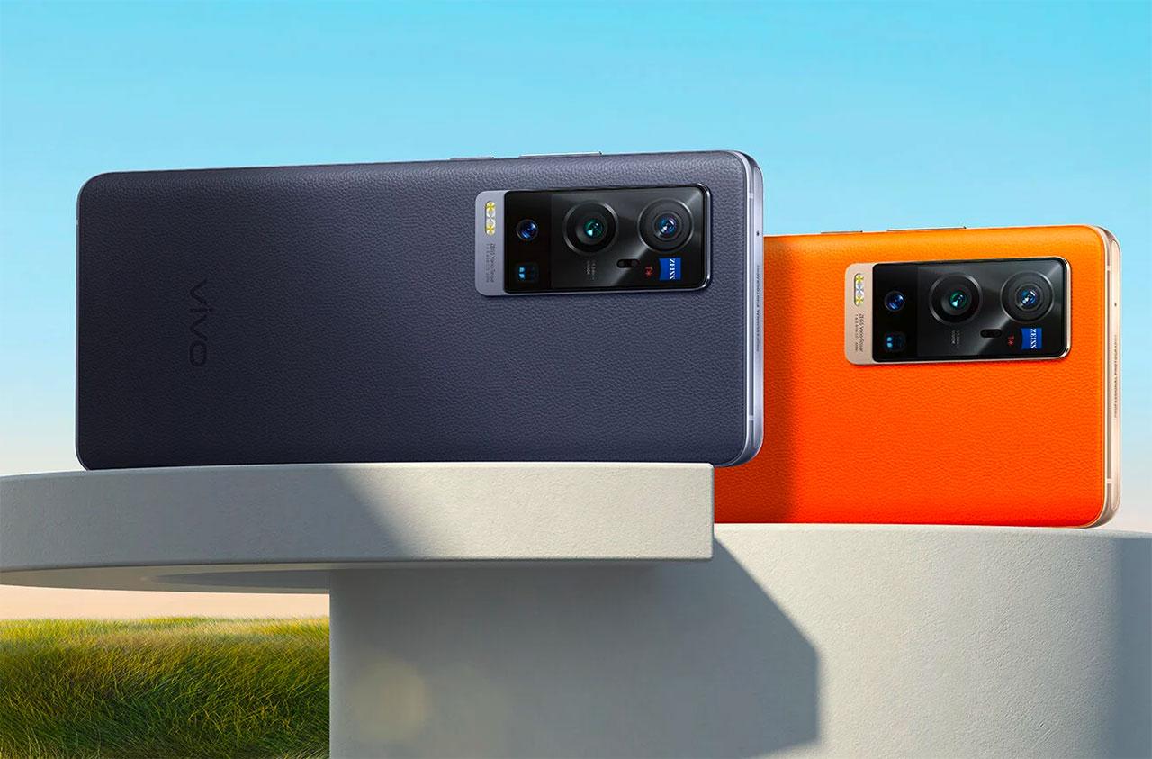 Le Vivo X60 Pro+ se décline en deux couleurs, bleu ou orange